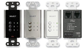 RDL Introduces Decora® Three-Input Source Selector for Its Format-A Audio System